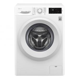Skalbimo mašina LG Washing mashine F0J5WN3W Front loading, Washing capacity 6.5 kg, 1000 RPM, Direct drive, A+++, Depth 45 cm, Width 60 cm, White, Motor type Inverter Direct Drive ™ Skalbimo mašinos