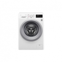 Washing machine LG Washing mashine F2J5NY4W Front loading, Washing capacity 6 kg, 1200 RPM, Direct drive, A+++, Depth 45 cm, Width 60 cm, White, LED, Display, Steam function