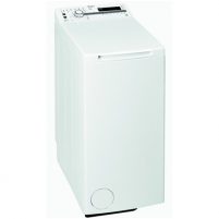 Skalbimo mašina Whirlpool Washing mashine TDLR 60110 Top loading, Washing capacity 6 kg, 1000 RPM, A++, Depth 60 cm, Width 40 cm, White, LED, Display, Yes,