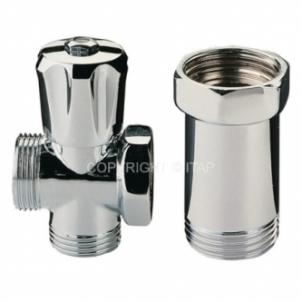 Skalbimo mašinos rutulinis ventilis ITAP, trišakis, d 3/4'' Citi vārsti