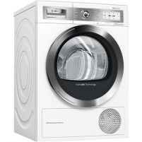 Skalbinių džiovyklė Bosch Dryer Mashine WTY87879SN Condensed, Sensitive dry, 9 kg, Energy efficiency class A++, Self-cleaning, White, TFT, Depth 60 cm, Display, Skalbinių džiovyklės