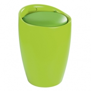 Skalbinių krepšys Bath Stool Candy green