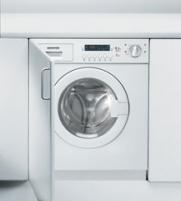 Skalbyklė-džiovyklė Hoover HDB 854DN/1-S Įmontuojamos skalbimo mašinos
