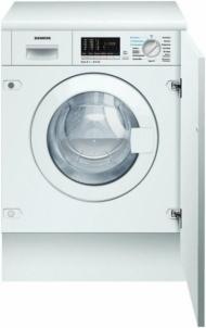 Skalbyklė Siemens WK-14D540 Įmontuojamos skalbimo mašinos
