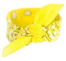 Skarelė Art of Polo Scarf sz13014 .2 Light yellow Šalikai, skaros