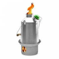 Skautų virdulys Kelly Kettle Scout ALU aluminiowy (1.3 L) Outfit, belts, holsters