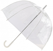 Skėtis Blooming Brollies Everyday Clear Dome Vinyl Umbrella Plain