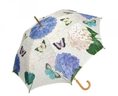 Skėtis Blooming Brollies Ladies Holovaty umbrella Coynes Butterfly and Flower Stick COSBYF