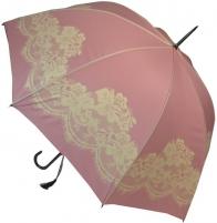 Skėtis Blooming Brollies Ladies Umbrella Pink Vintage Lace Skėčiai