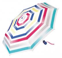 Skėtis Esprit Easymatic Light Summer Strip es Light Light Lightweight Umbrella Skėčiai