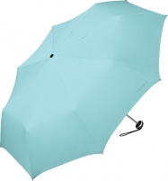 Skėtis Esprit Women´s folding umbrella Mini Alu Light 51396 Aqua Sky Lietussargi