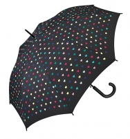 Skėtis Esprit Women´s Long AC Heart beat umbrella Umbrellas