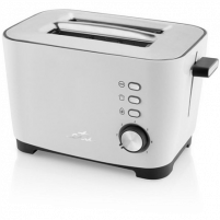 Skrudintuvas ETA Ronny Toaster ETA316690000 White, 800 W, Number of slots 2, Number of power levels 7, Toasters, deep fryers