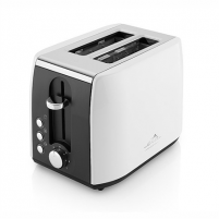 Skrudintuvas ETA Toaster White, 900 W, Number of slots 2, Number of power levels 7, Bun warmer included Toasters, deep fryers