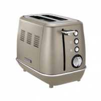 Skrudintuvas Morphy richards Toaster 224403 Platinum, Stainless steel, 900 W, Number of slots 2, Number of power levels 7, Tosteri, fritieri