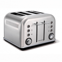 Skrudintuvas Toaster Morphy richards 242026 Stainless steel, Stainless steel, 1880 W, Number of slots 4, Number of power levels 7, Tosteri, fritieri
