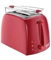 Skrudintuvas Toaster Russell Hobbs 21642-56 Textures | red Toasters, deep fryers