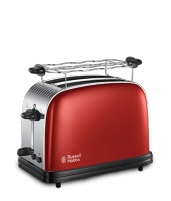 Skrudintuvas Toaster Russell Hobbs 23330-56 Colours+ | red Toasters, deep fryers