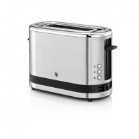 Skrudintuvas WMF Toaster KITCHENminis Stainless steel, Cromargan® 18/10 stainless steel, 600 W, Number of slots 1, Bun warmer included Tosteri, fritieri