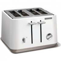 Skrudintuvė Morphy richards 240003 EE Aspect Toaster, 4 slice, White
