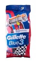 Skustuvas Gillette Blue3 Nitro Razor 6vnt Depiliacija
