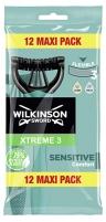 Skustuvas vyrams Wilkinson Sword Wilkinson Xtreme3 Pure Sensitive 12 vnt Depilatories