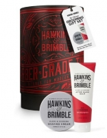 Skutimosi kremo + balzamas po skutimosi rinkinys Hawkins & Brimble Creams for men