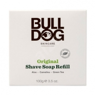 Skutimosi soap bambuko dubenyje (papildymas) Bulldog 100 g Soap