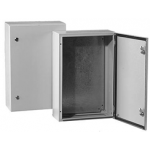 Skydas paskirstymo 600x800x400mm, IP66, metalinis, su spynele, su montž. plokšte, IK10, Tibox ST6 840