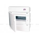 Skydelis modul. įleidžiamas, 12mod., IP40, plastikinis, balt. dur., be spynelės, ECM, ETI 01101015