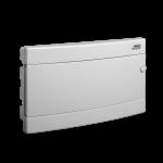 Skydelis modulinis įleidžiamas, 18mod., IP40, plastikinis, balt. dur., be spynelės PNF 18W, NOARK 101519