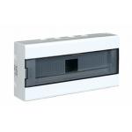Skydelis modulinis įleidžiamas, 18mod., IP40, plastikinis, tams. dur., be spynelės, PNF 18T, NOARK 101513 Įleidžiami paskirstymo skydeliai