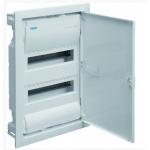 Skydelis modulinis įleidžiamas, 24mod., IP40, plastikinis, balt. dur., be spynelės PNF 24W, NOARK 101520 Įleidžiami paskirstymo skydeliai