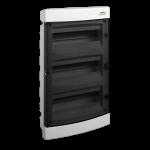 Skydelis modul. įleidžiamas, 36mod., IP40, plastikinis, tams. dur., be spynelės, PNF 36T, NOARK 101516