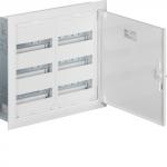 Skydelis modul. įleidžiamas, 72mod., 500x550x110mm, IP30, plastikinis, met. dur., be spynelės, Hager FW32US2
