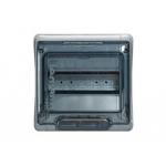 Skydelis modul. paviršinis, 12mod., IP65, plastikinis, tams. dur., be spynelės, Plexo, Legrand 601981
