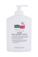 Liquid soap SebaMed Sensitive Skin Face & Body Wash 300ml Soap