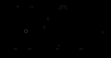Šlapiojo rotoriaus siurblys Stratos MAXO 40/0,5-12 PN6/10