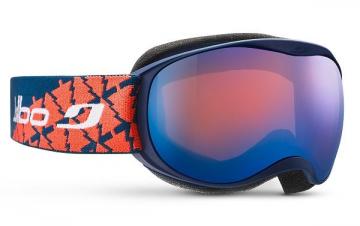 Slidinėjimo akiniai Atmo Cat 3 vaikiški Mėlyna/Oranžinė Slēpošanas aizsargbrilles