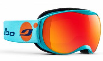 Slidinėjimo akiniai Atmo Cat 3 vaikiški Mėlyna šviesi/Oranžinė Slēpošanas aizsargbrilles