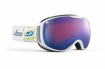 Slidinėjimo akiniai Pioneer cat 3 poliarizuoti Balta Ski goggles