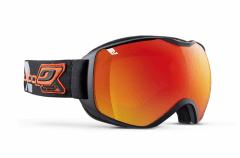 Slidinėjimo akiniai Quantum cat 3 Juoda/Oranžinė