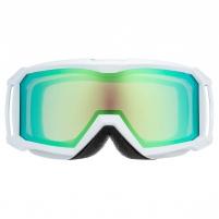 Slidinėjimo akiniai Uvex flizz FM white dl/green clear-rose Slēpošanas aizsargbrilles