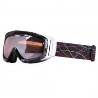 Slidinėjimo akiniai WORKER Benet-Black su grafika