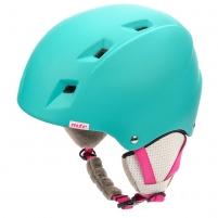 Slidinėjimo šalmas METEOR KIONA, mėtinis/rožinis Ski helmets