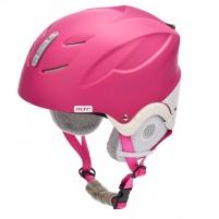 Slidinėjimo šalmas METEOR LUMI, rožinis/baltas Slēpošanas ķiveres
