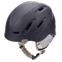 Slidinėjimo šalmas METEOR NIX, tamsiai mėlynas Ski helmets