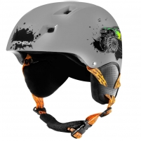 Slidinėjimo šalmas Spokey AURORA, pilkas Ski helmets