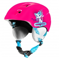 Slidinėjimo šalmas Spokey AURORA, rožinis Ski helmets