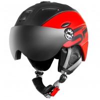 Slidinėjimo šalmas Spokey MONTANA, raudonas Ski helmets